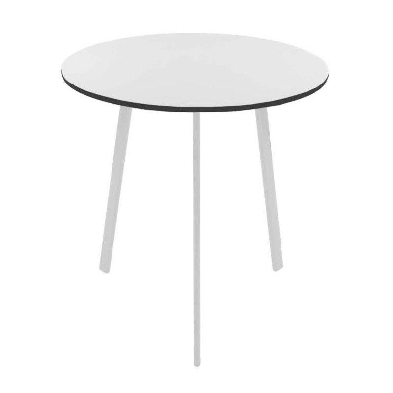 Gartentisch rund wei kunststoff gartentisch rund wei mm for Kunststoff pool rund