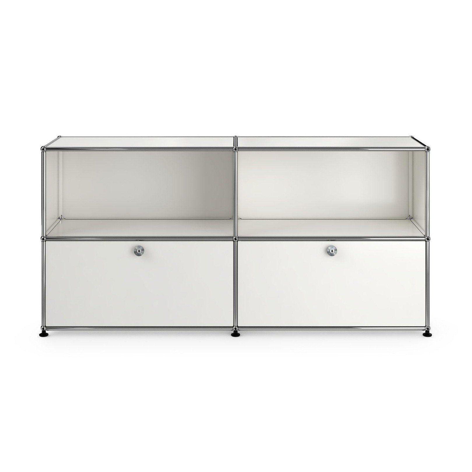 usm sideboard with 2 drawers usm haller. Black Bedroom Furniture Sets. Home Design Ideas