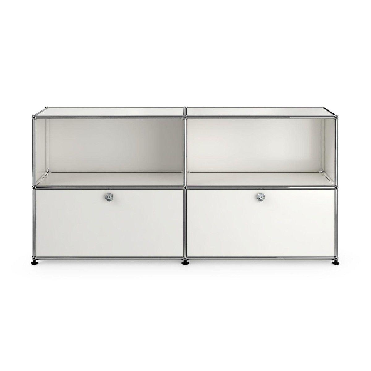usm sideboard avec 2 tiroirs usm haller. Black Bedroom Furniture Sets. Home Design Ideas