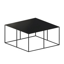Zeus - Slim Irony Side Table 70x70x34cm