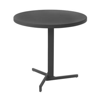 emu - Mia Garden Bistro Table round - black/powder-coated/H 74cm, Ø 80xm/foldable