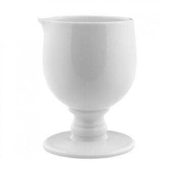 Alessi - Dressed Rahmkännchen - weiß/H 9,5cm
