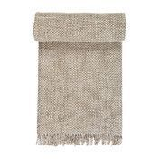 Linum - Style Throw Plaid/Tagesdecke - beige/100% Wolle/130x170cm