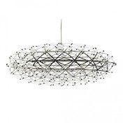 Moooi - Raimond Zafu Pendelleuchte - edelstahl/162 LEDs/Lichtfarbe 2700 Kelvin/510 lm/Ø 75cm