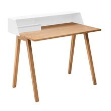 müller möbelfabrikation - PS04 secretaris 100x63x91,5cm onderstel eik
