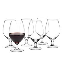 Holmegaard - Set de 6 verres de vin rouge Royal