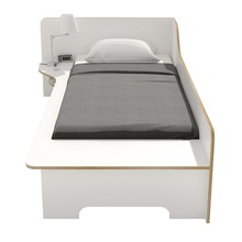 müller möbelwerkstätten - Plane Bett mit Bettkasten