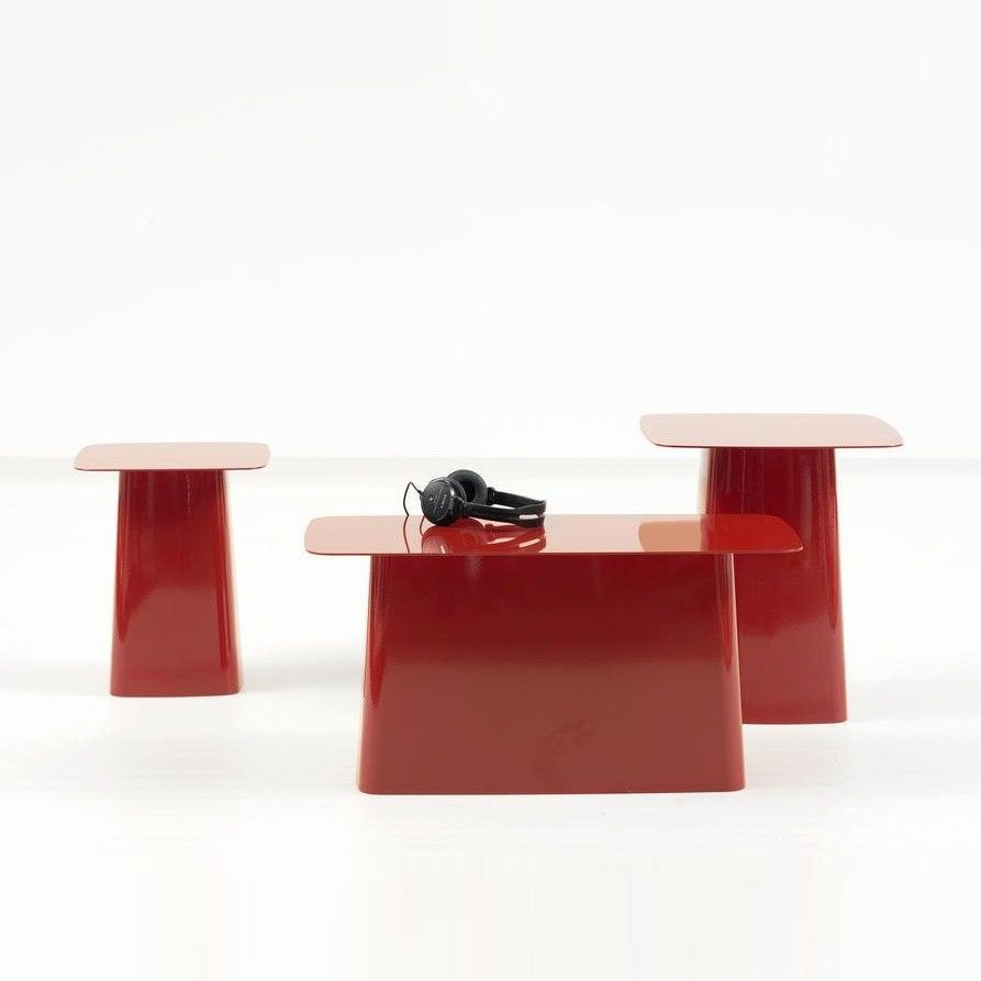 metal side table beistelltisch vitra. Black Bedroom Furniture Sets. Home Design Ideas