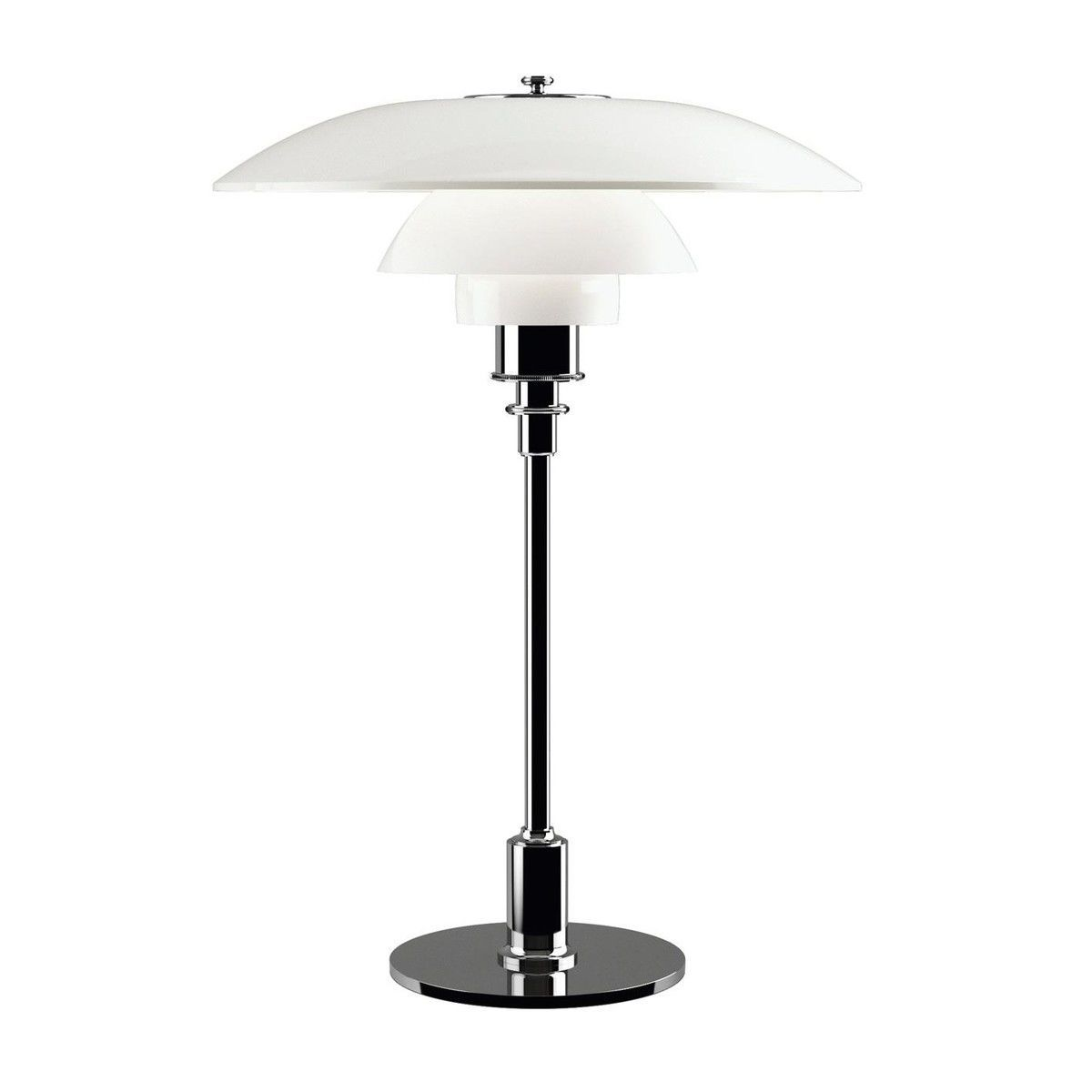 PH 3 1/2   2 1/2 Glass Table Lamp   Opal