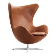 Fritz Hansen - Egg Chair/Das Ei™ Loungesessel Leder