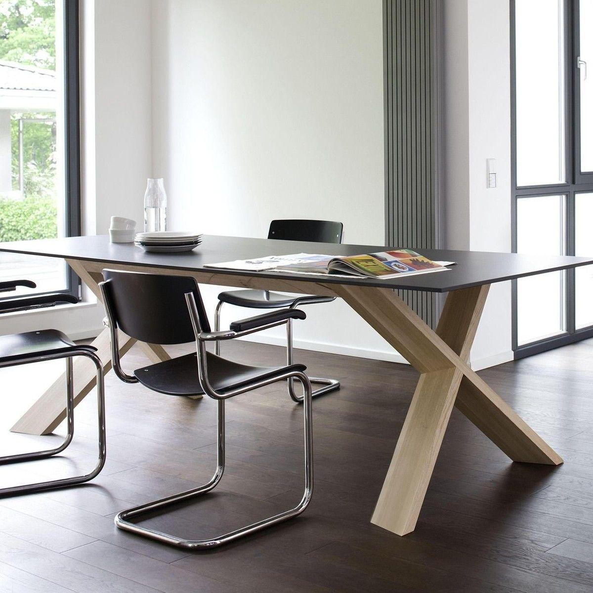 x man esstisch conmoto. Black Bedroom Furniture Sets. Home Design Ideas