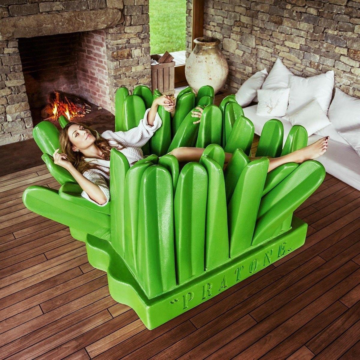 Grass Couch Pratone Couch Lawn Gufram Ambientedirectcom