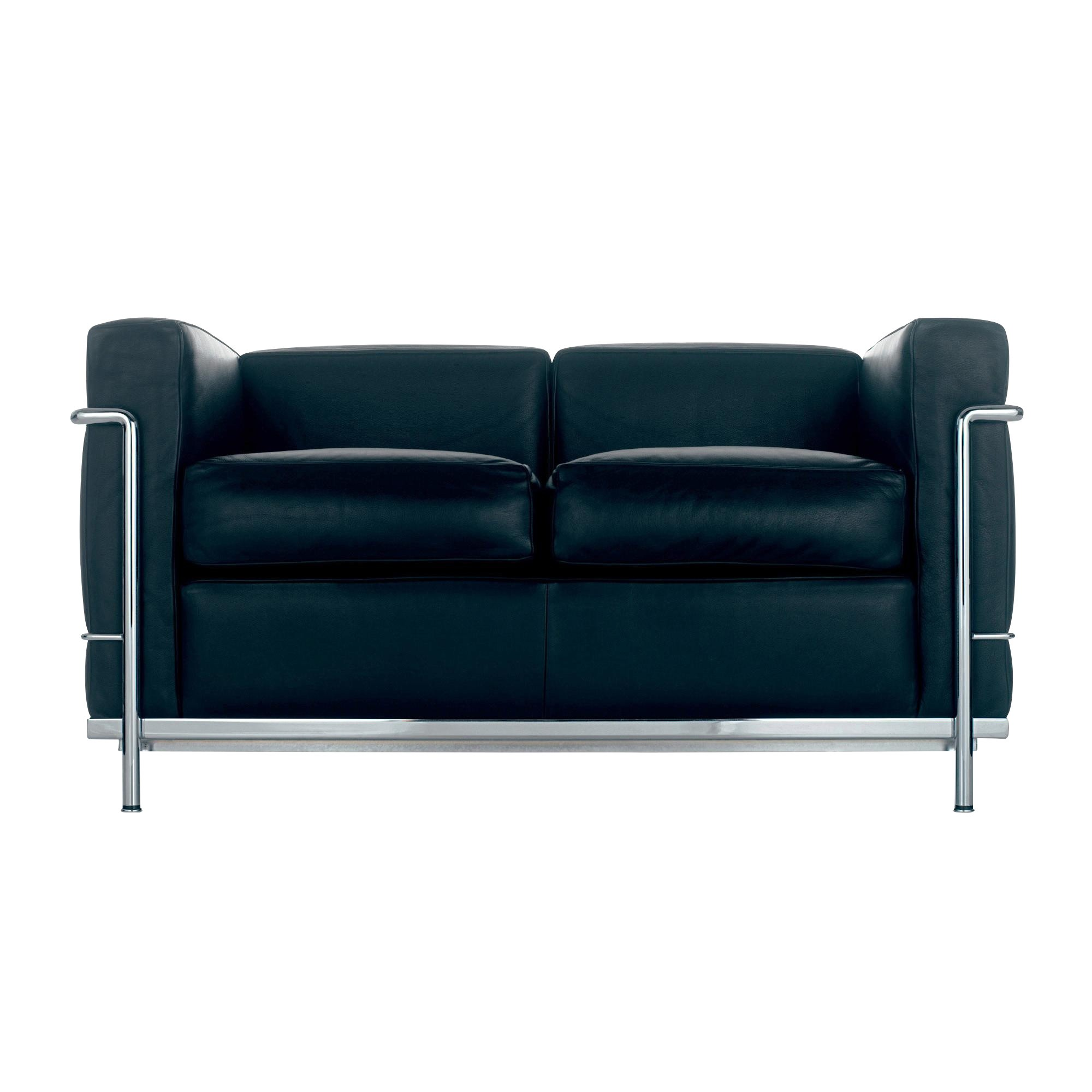 Cassina Le Corbusier Lc2 2 Sitzer Sofa Ambientedirect