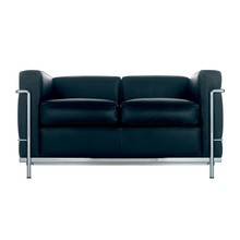 Cassina - Le Corbusier LC2 Sofa Two Seater