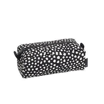 HAY - Dot Wash Bag Kosmetiktasche S - schwarz/dots weiß/LxBxH 18x8x7cm/mit Reißverschluss