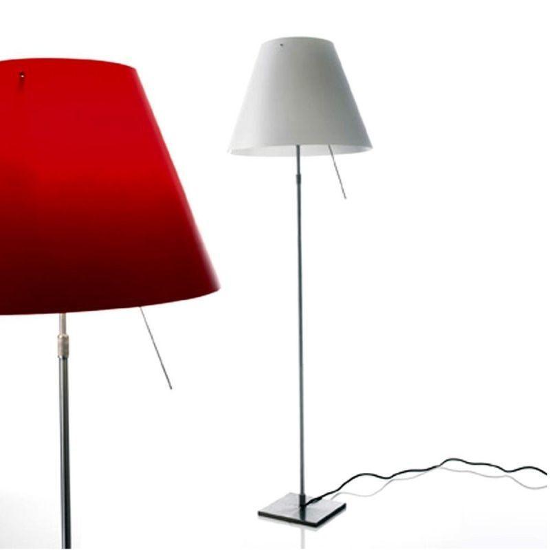 costanza terra floor lamp telescope dimmer luceplan. Black Bedroom Furniture Sets. Home Design Ideas