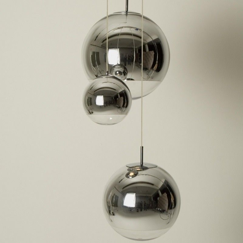 mirror ball pendant pendelleuchte chrom tom dixon. Black Bedroom Furniture Sets. Home Design Ideas