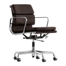 Vitra - Chaise de bureau Soft Pad EA 217 chromé