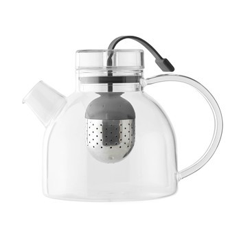 Menu - Kettle Teekanne 0,75l - transparent/H 13cm, 750ml