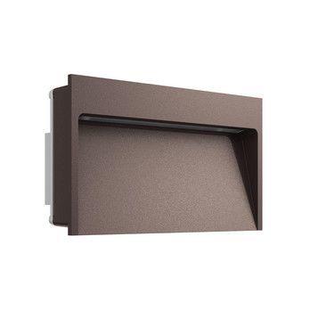 Flos - Flos My Way LED Außenleuchte  - dunkelbraun/lackiert/BxHxT 11x20x5.8cm/2700K