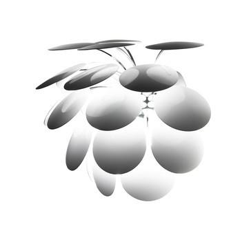 Marset - Discocó A Wandleuchte - weiß/glänzend/38.0 x 27.5cm