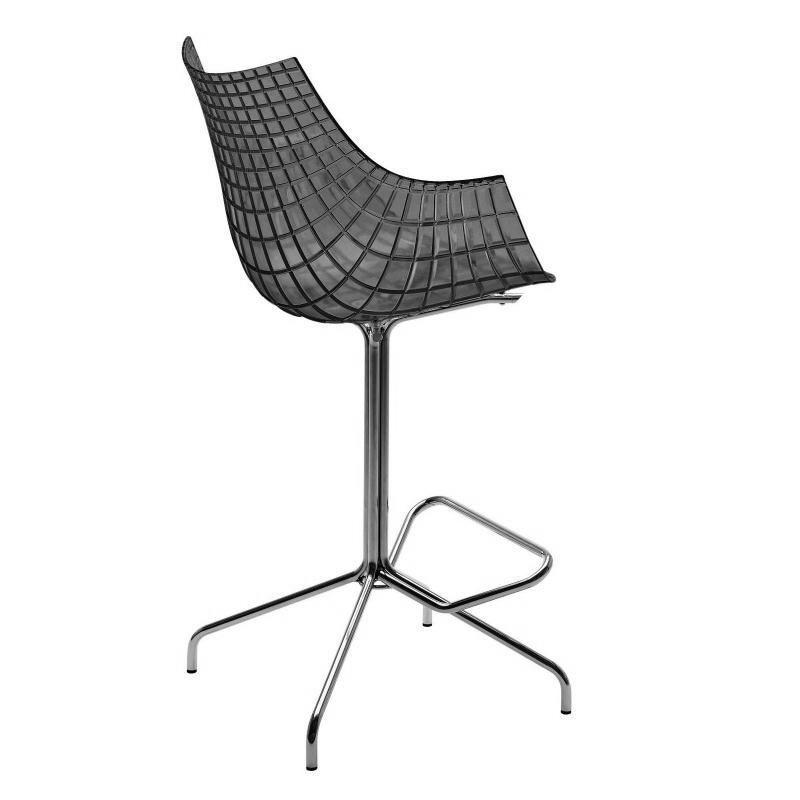 driade meridiana stool fumglossy