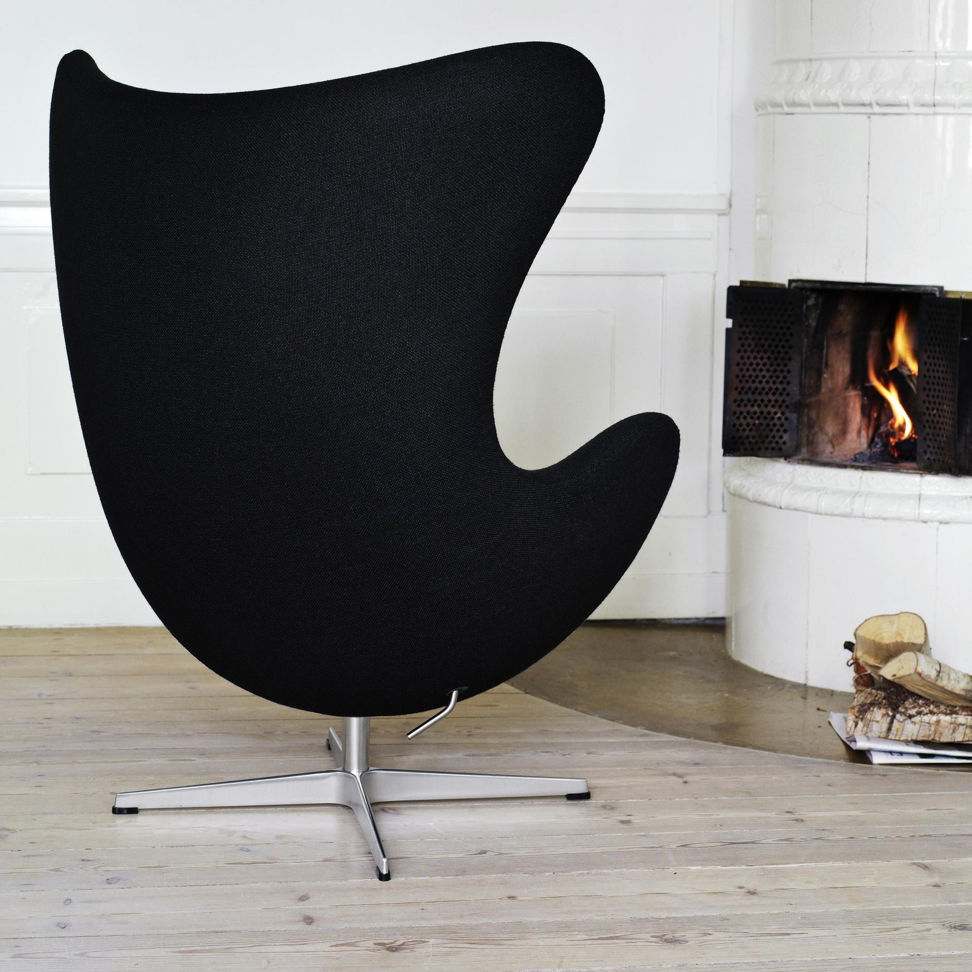 Fritz Hansen Promotion Set Egg Chair Footstool Fabric Ambientedirect