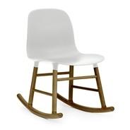 Normann Copenhagen - Form Rocking Chair Schaukelstuhl Walnuss