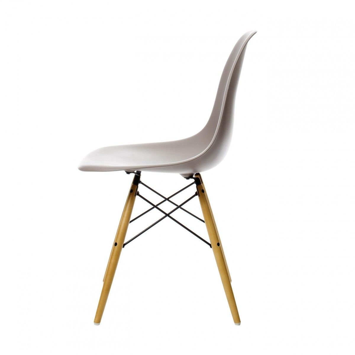 Eames plastic side chair dsw chaise h41cm vitra for Reedition chaise eames