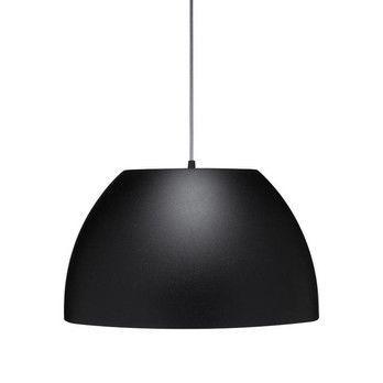 lumini - Bossa Pendelleuchte - schwarz/matt/H:30cm x Ø50cm