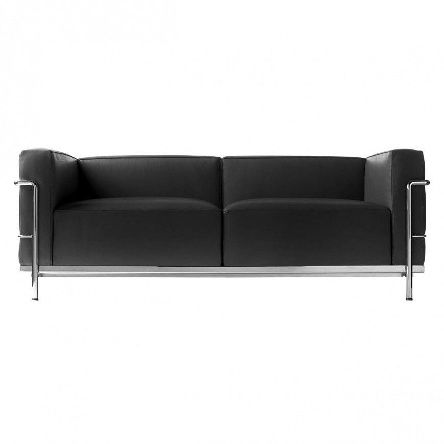 Le corbusier lc3 sofa cassina cassina for Le corbusier sofa