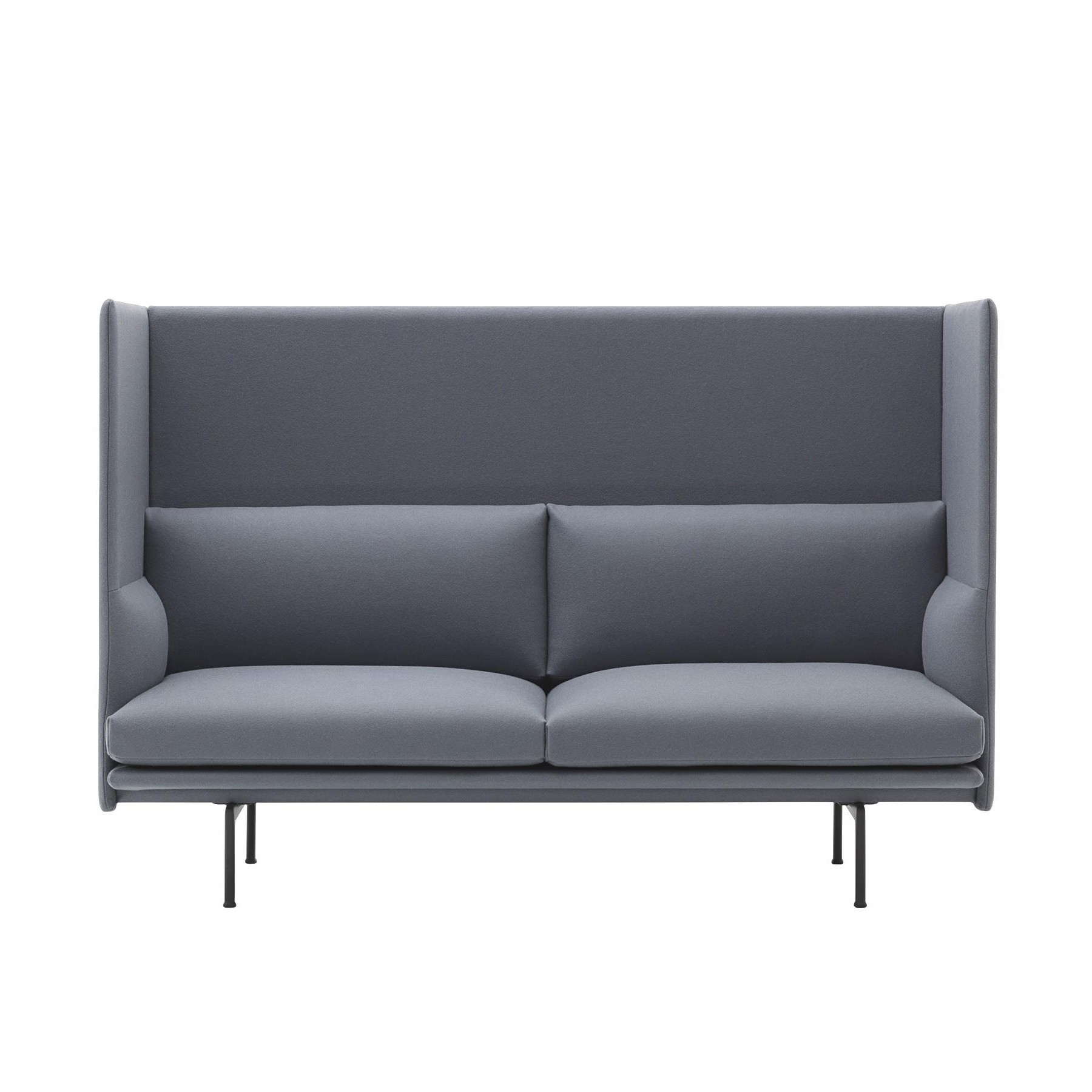 Muuto Outline Highback Sofa 2 Seater
