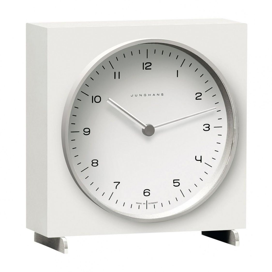 max bill table clock junghans. Black Bedroom Furniture Sets. Home Design Ideas