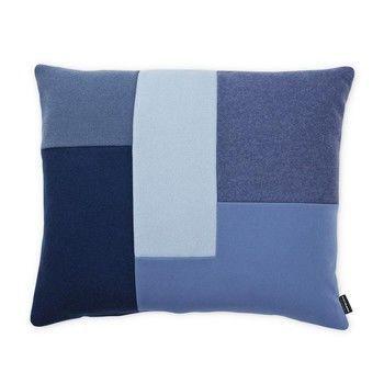 Normann - Brick Kissen 60x50cm - blau