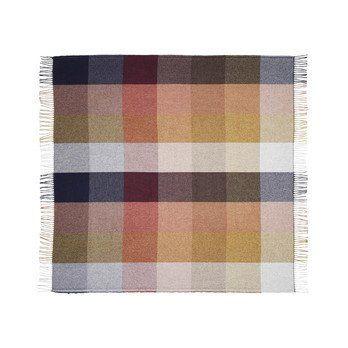 Tom Dixon - Check Überwurf/Tagesdecke 180x150cm - Mehrfarbig/180x150cm