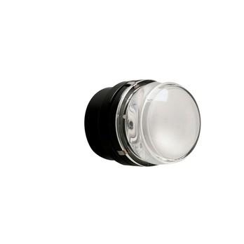 Oluce - Fresnel Wall/Ceiling Lamp - black/aluminium