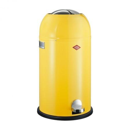 Wesco Kickmaster 33 Liter Bruin.Wesco Kickmaster Soft Close Vuilnisemmer Ambientedirect