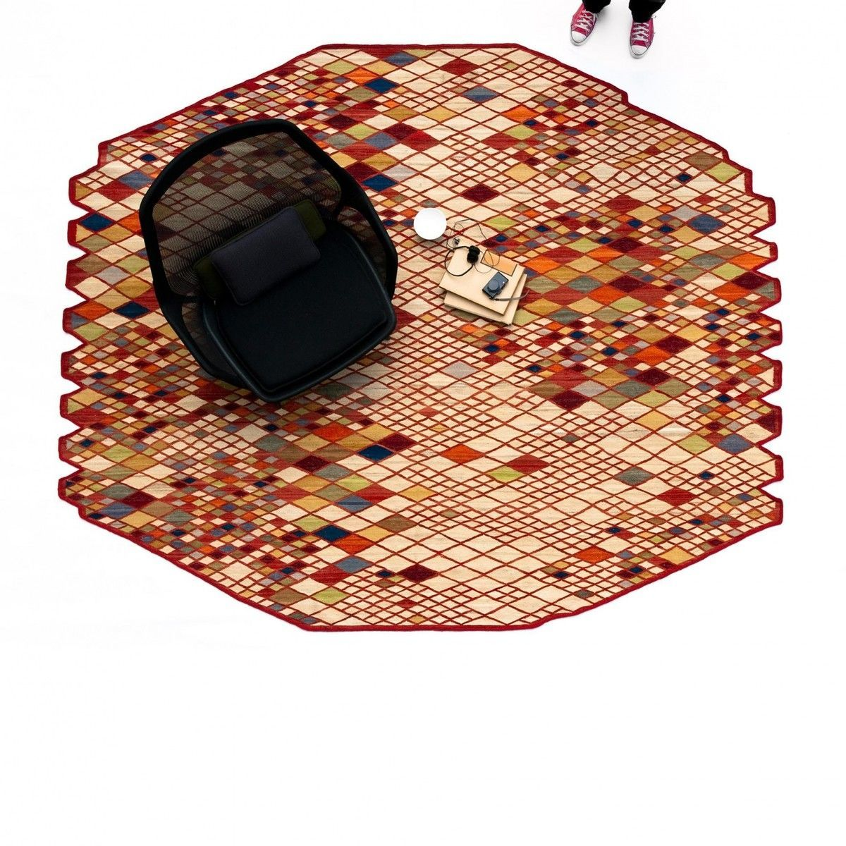 Losanges Bouroullec Design Teppich Nanimarquina
