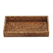 Decor Walther - Basket TAB 2 Rattan-Tablett