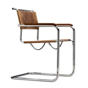 Thonet - Chaise cantilever avec accoudoirs S 34