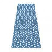 pappelina - Honey Teppich 70x225cm - blau/vanille