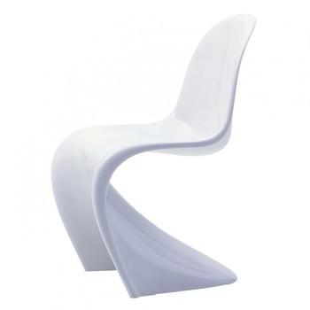 Vitra - Panton Chair Classic Stuhl - weiß glänzend