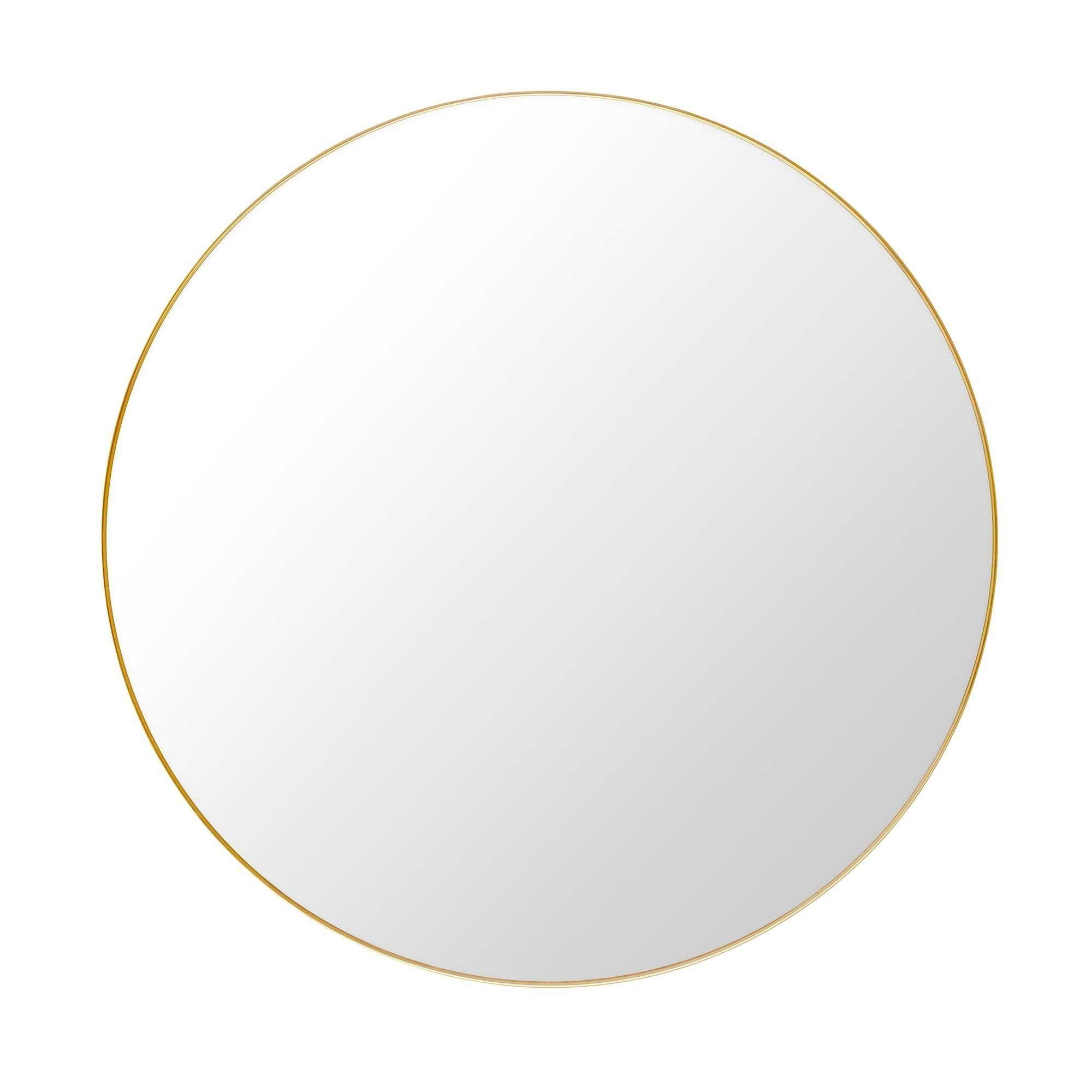 gubi mirror miroir rond 110cm gubi. Black Bedroom Furniture Sets. Home Design Ideas