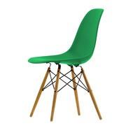 Vitra - Eames Plastic Side Chair DSW Golden Maple Base