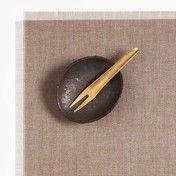 Chilewich - Metallic Fringe Tischset 37x39cm
