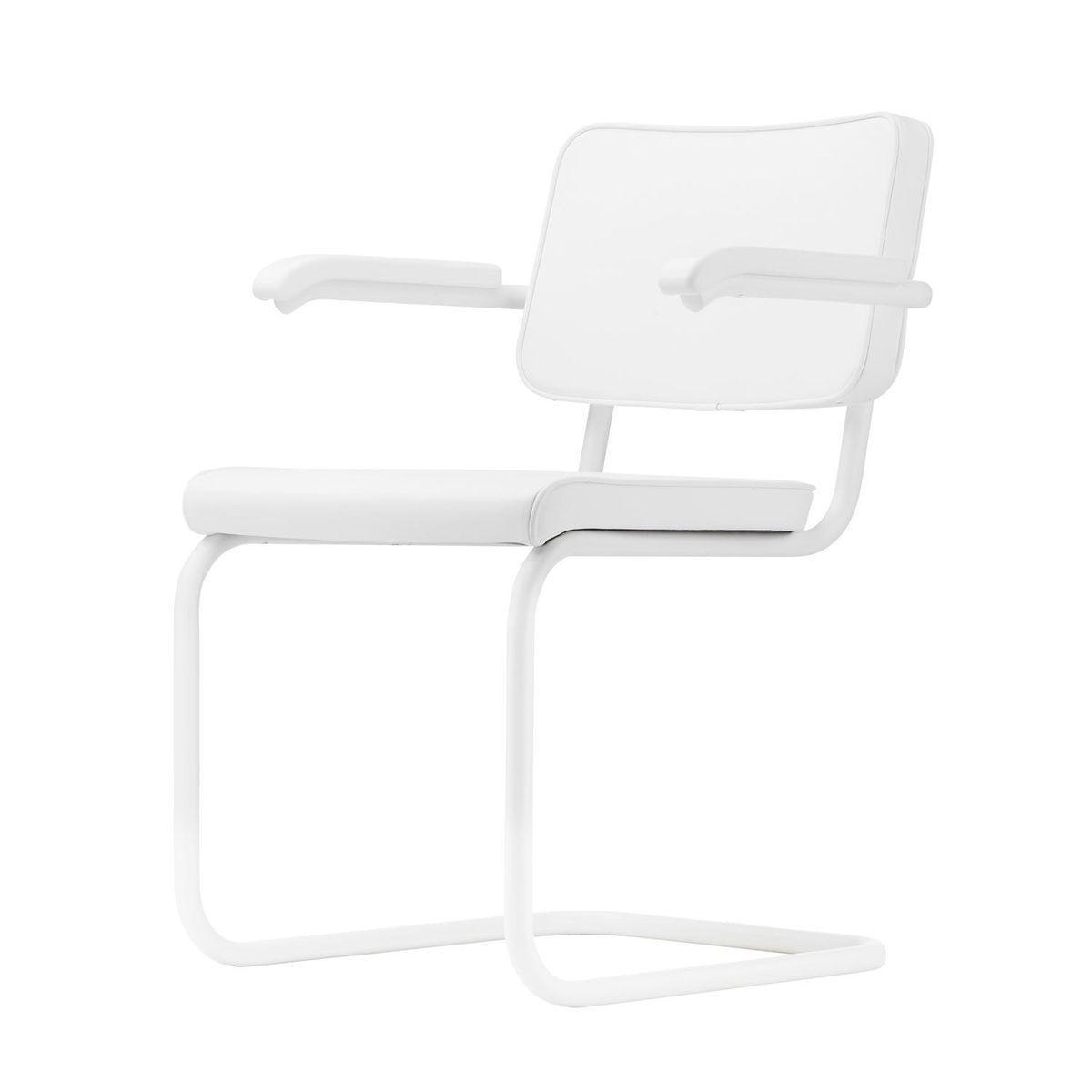 s 64 freischwinger stuhl black white thonet thonet s 64. Black Bedroom Furniture Sets. Home Design Ideas