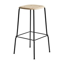 HAY - Tabouret de bar haut Soft Edge 30