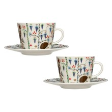 iittala - Taika Coffee Cup with Saucer Set of 2