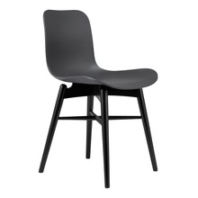 NORR 11 - Langue Original Chair Black Beech Wood Base