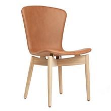 Mater - Shell Stuhl Gestell Eiche matt lackiert